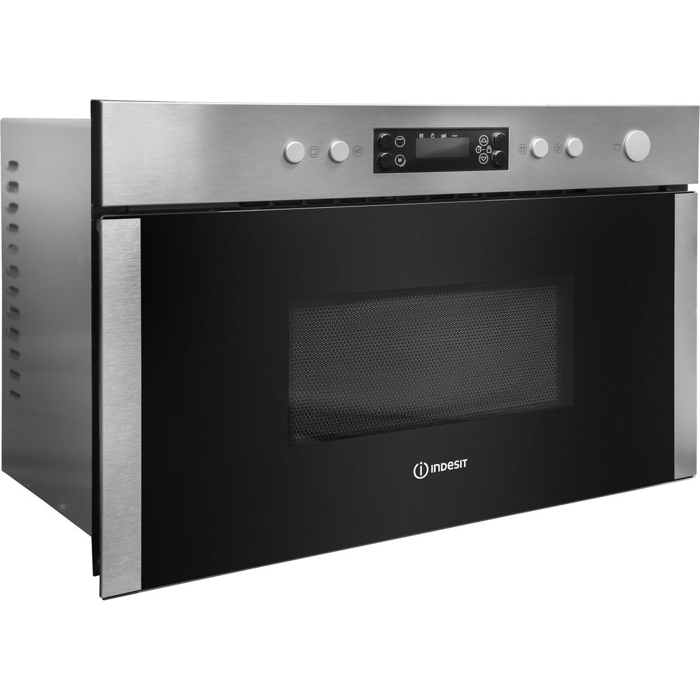 Indesit Aria MWI 3213 IX Built-in Microwave in Stainless Steel