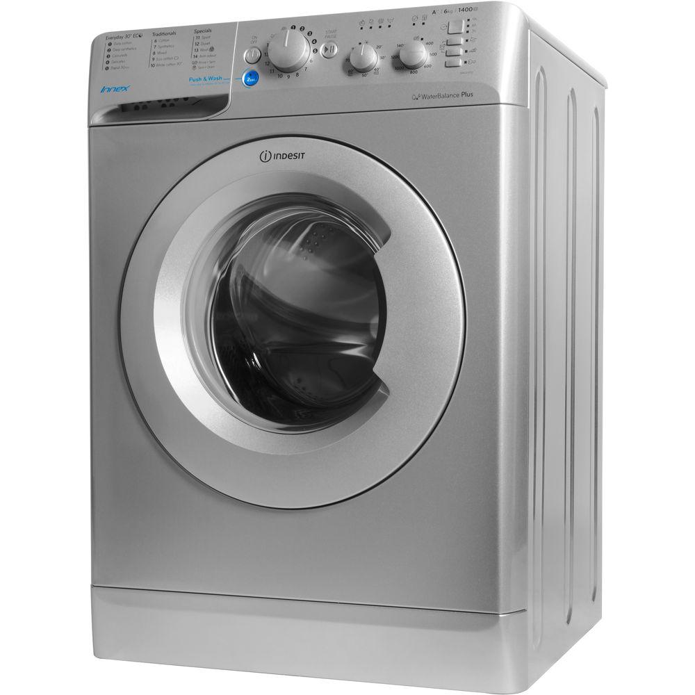Indesit Innex BWC 61452 S Washing Machine in Silver - BWC ...