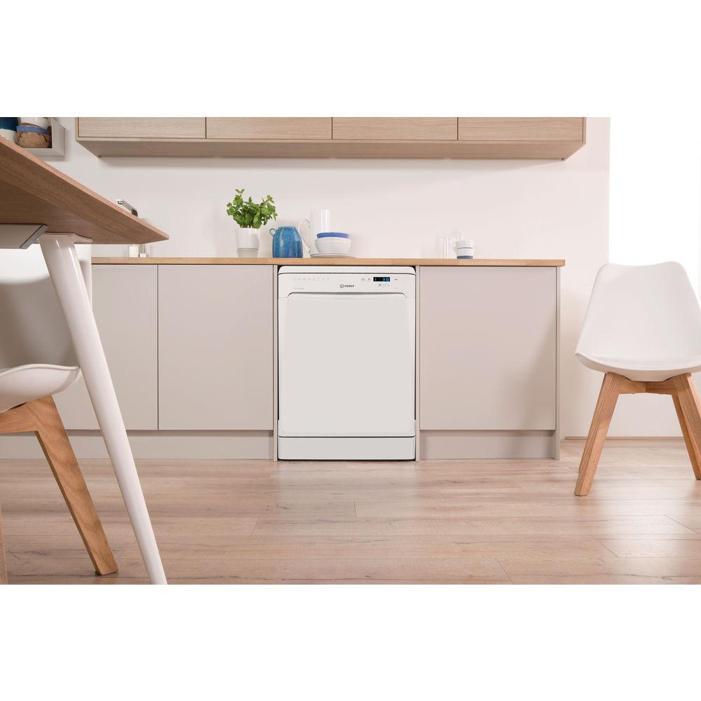 lave vaisselle indesit standard 60cm couleur blanche dfp 58t94 z. Black Bedroom Furniture Sets. Home Design Ideas