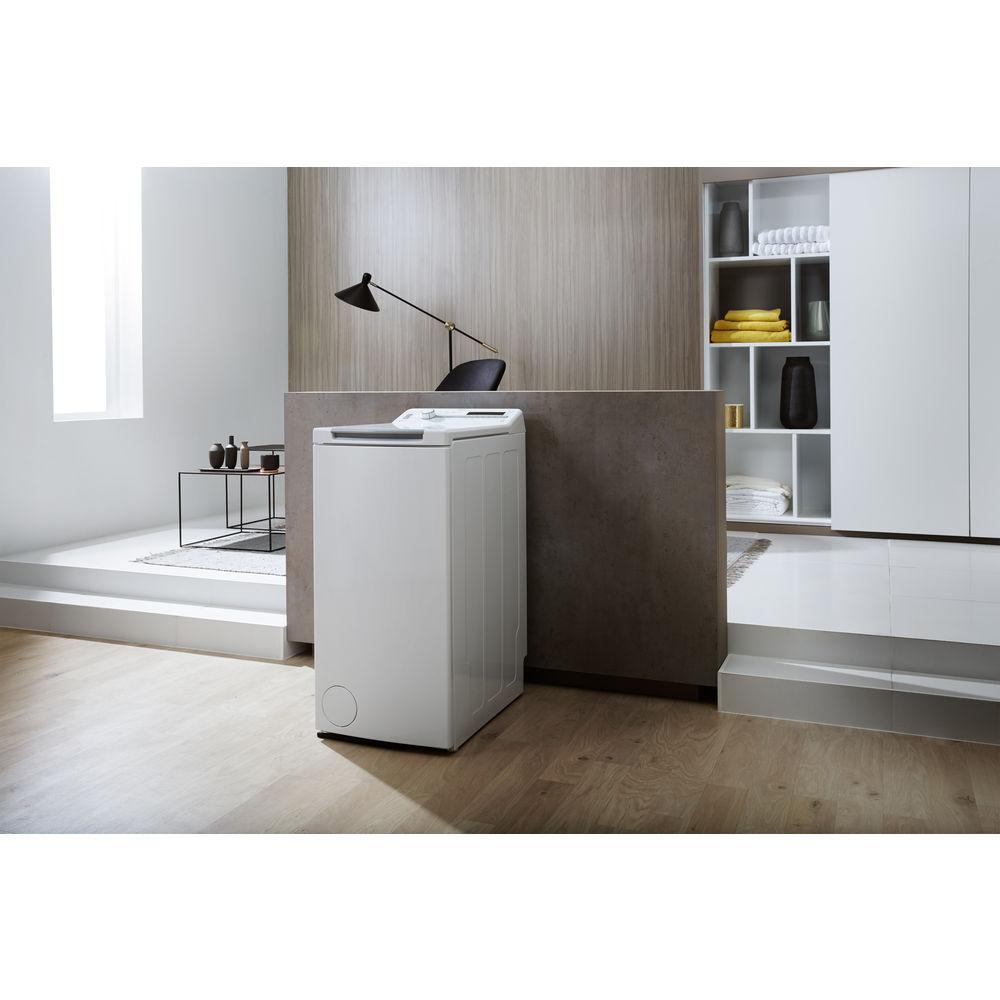 Cache Machine A Laver lave-linge à ouverture par le dessus posable whirlpool: 6.5
