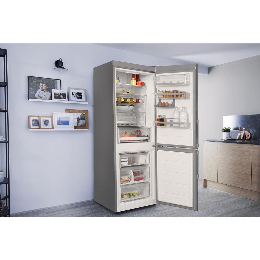 bauknecht freistehende k hl gefrierkombination nofrost kgnf 18 a3 in. Black Bedroom Furniture Sets. Home Design Ideas