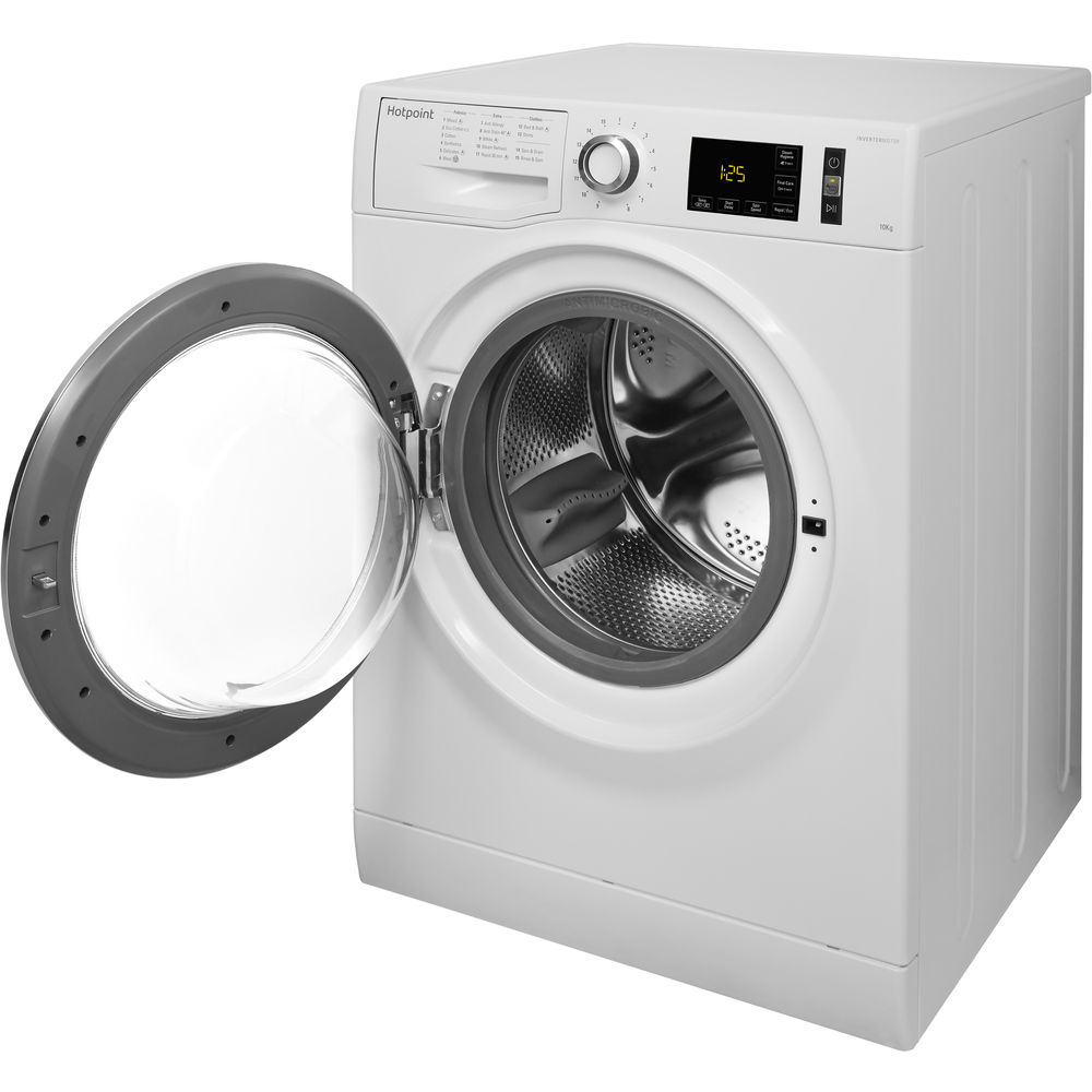 Hotpoint Activecare Nm11 1065 Wc A Washing Machine White