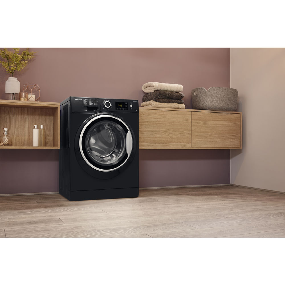 Hotpoint Activecare Nm11 946 Bc A Washing Machine Black