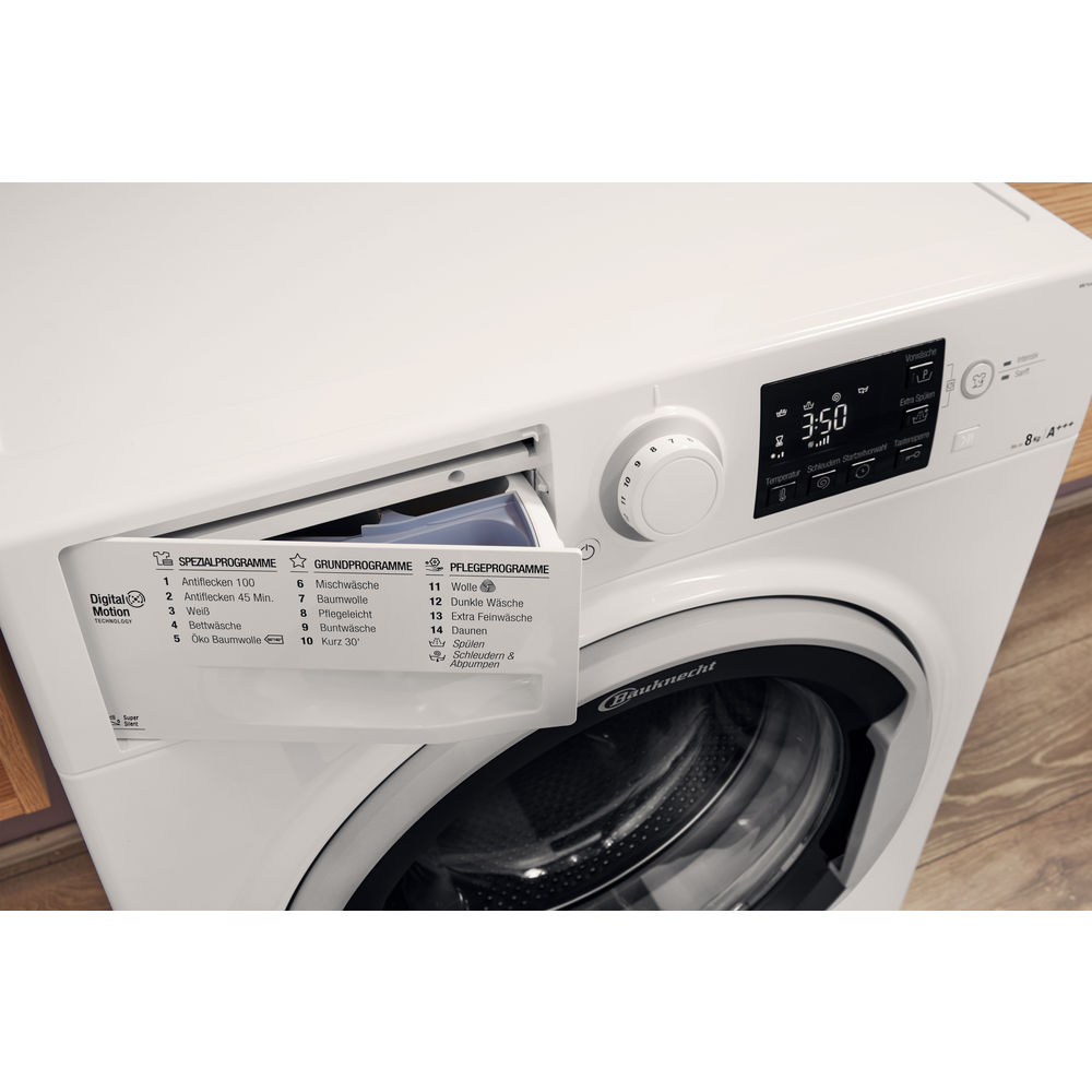 Bauknecht Frontlader-Waschmaschine: 8 kg - WM Sense 8G43PS ...