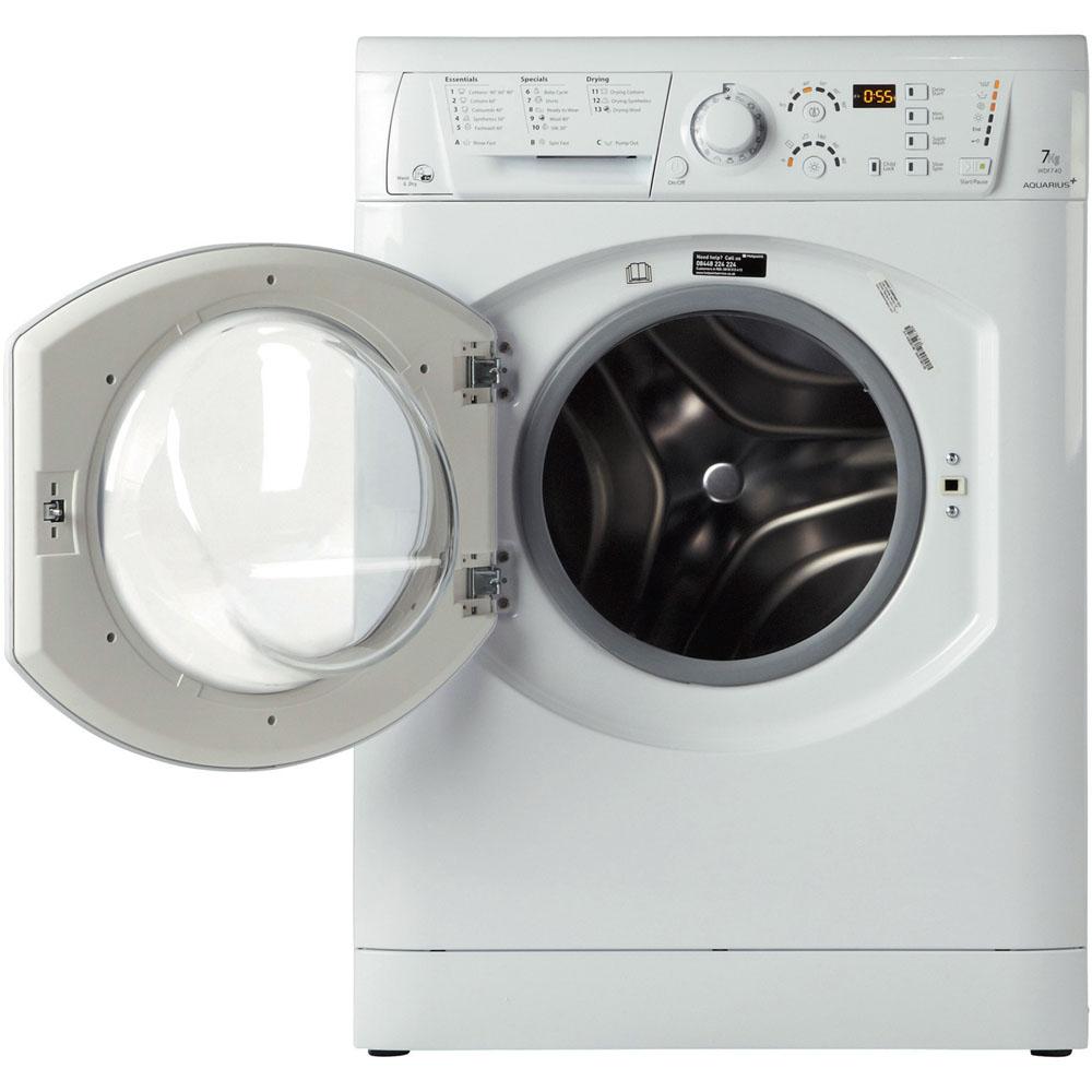 Hotpoint Aquarius WDF 740 P Washer Dryer - White