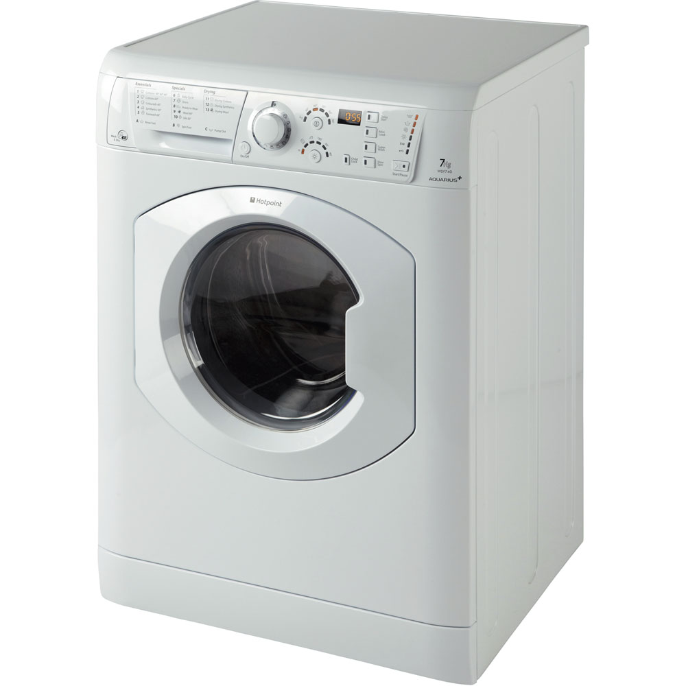 Hotpoint Aquarius WDF 740 P Washer Dryer - White