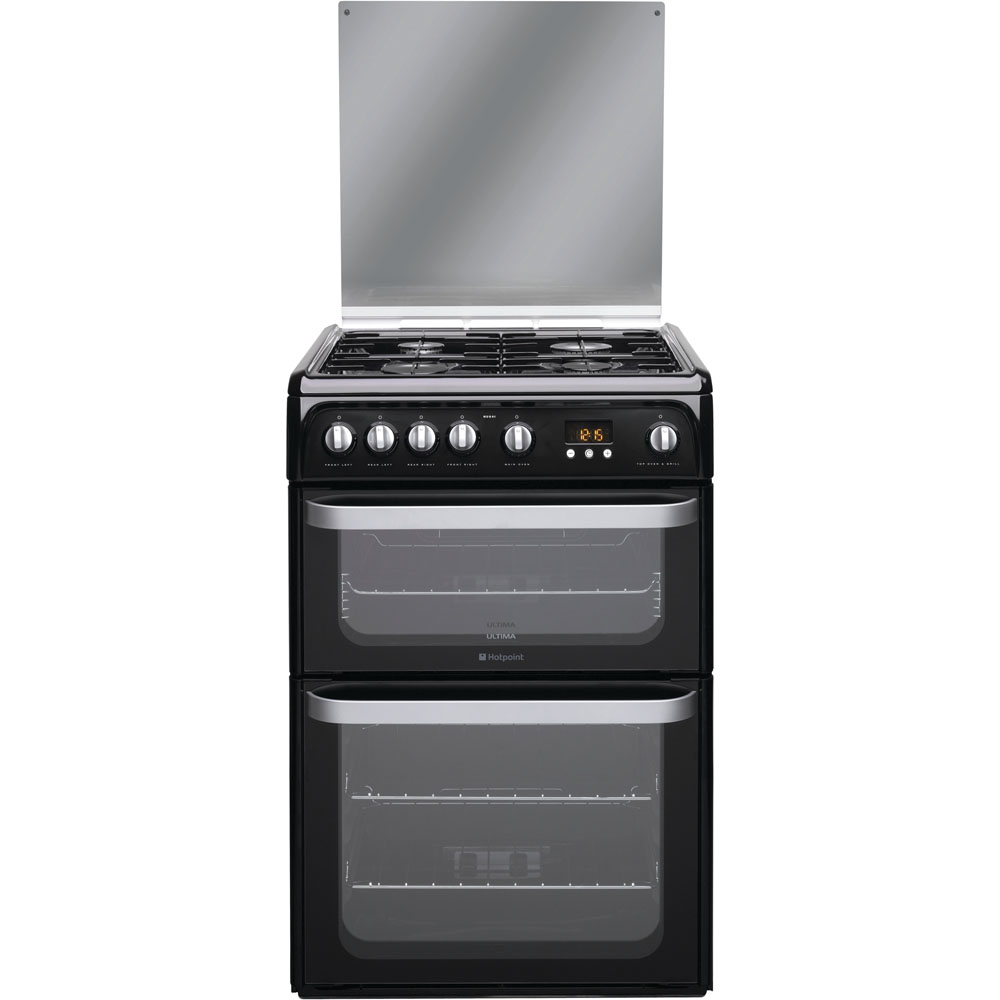 Hotpoint Ultima HUG61K Cooker - Black