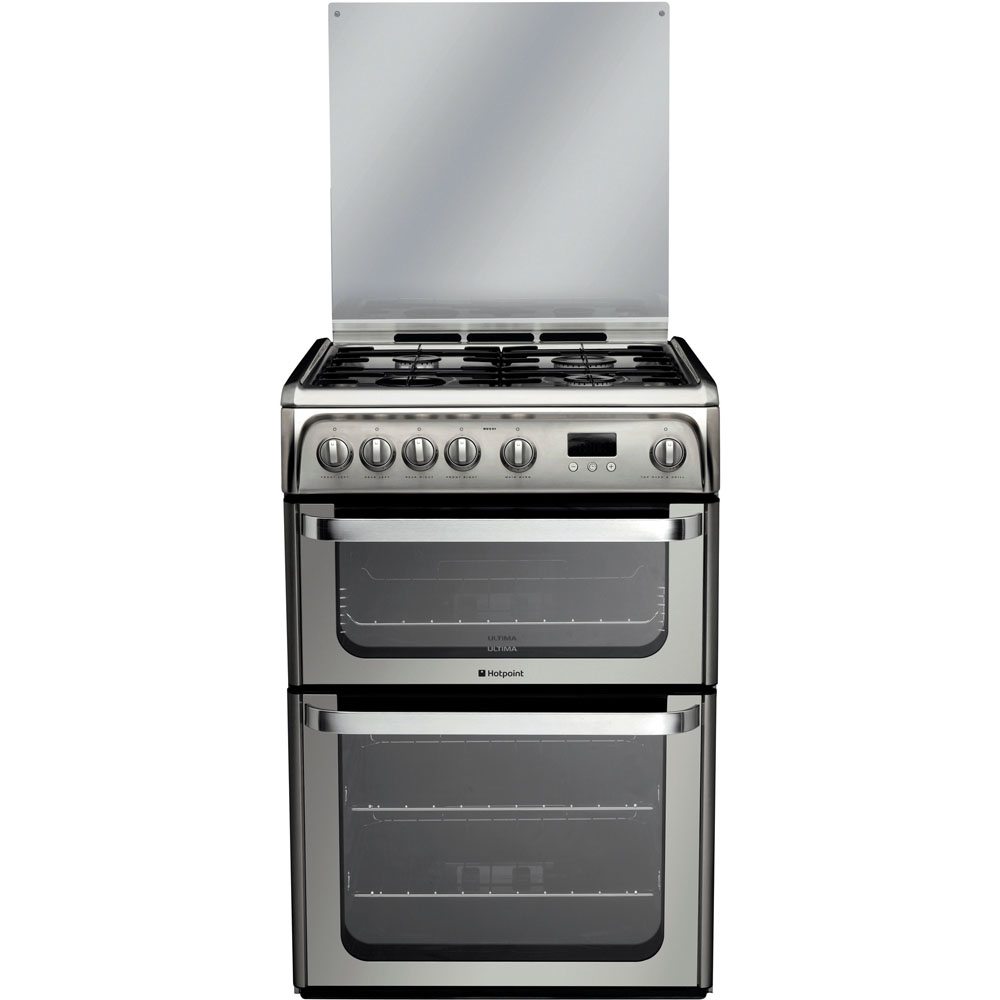 Hotpoint Ultima HUG61X Cooker - Stainless Steel