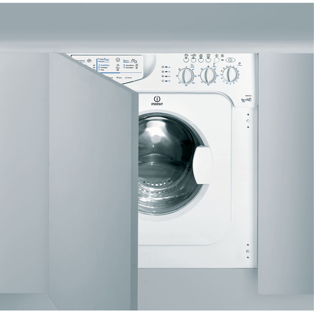 Integrated washer dryer: 6kg