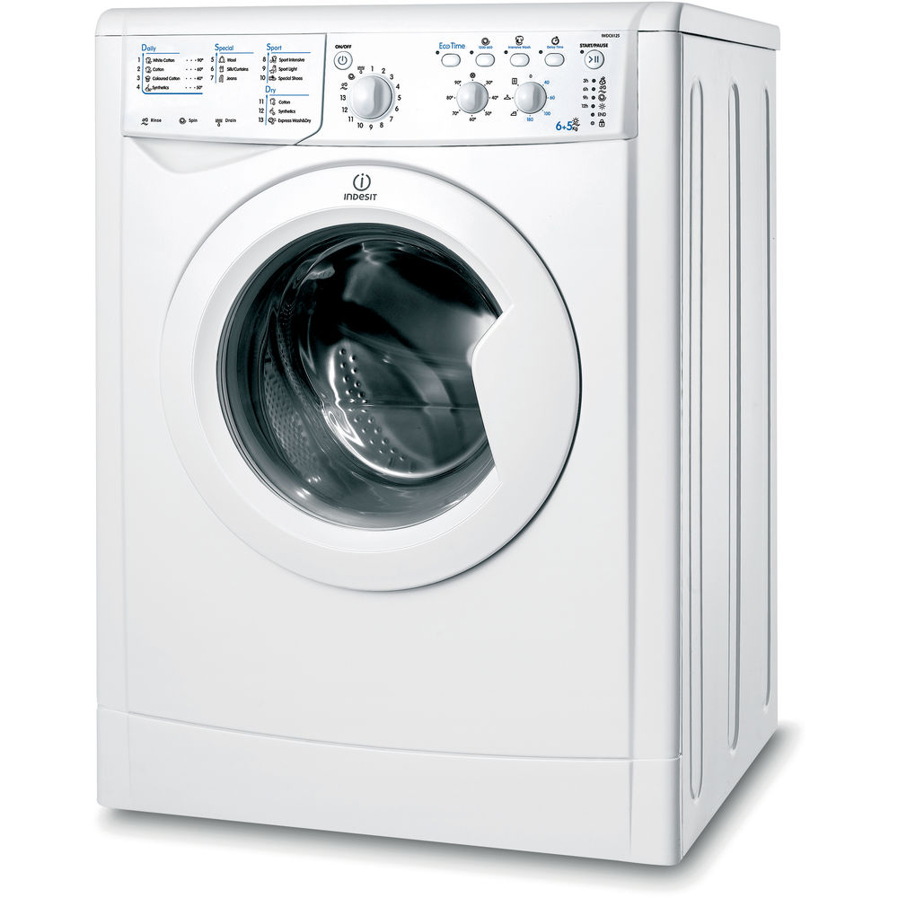 Indesit ecotime iwdc 6125 washer dryer in white iwdc 6125 uk indesit ecotime iwdc 6125 washer dryer in white buycottarizona Choice Image