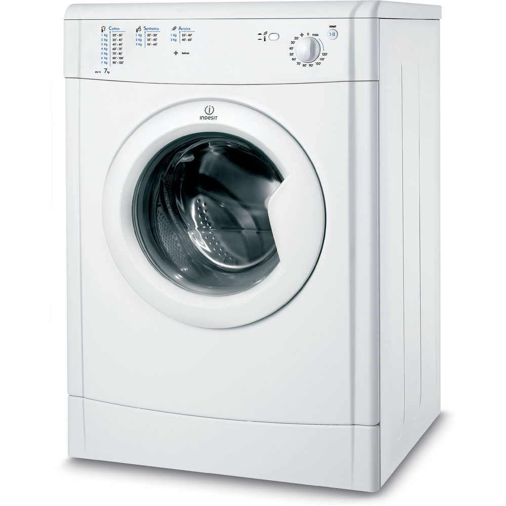 Indesit air-vented tumble dryer: freestanding, 7kg