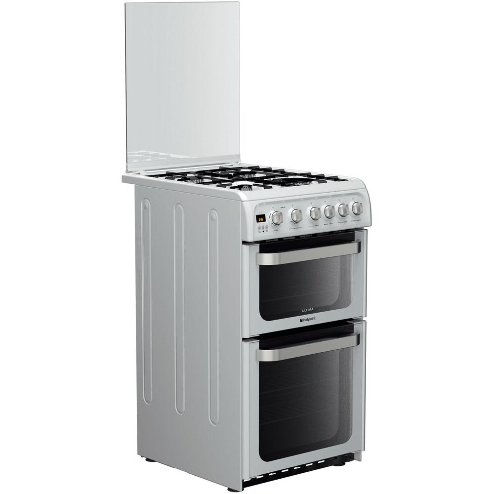 Hotpoint Ultima HUG52P Cooker - White