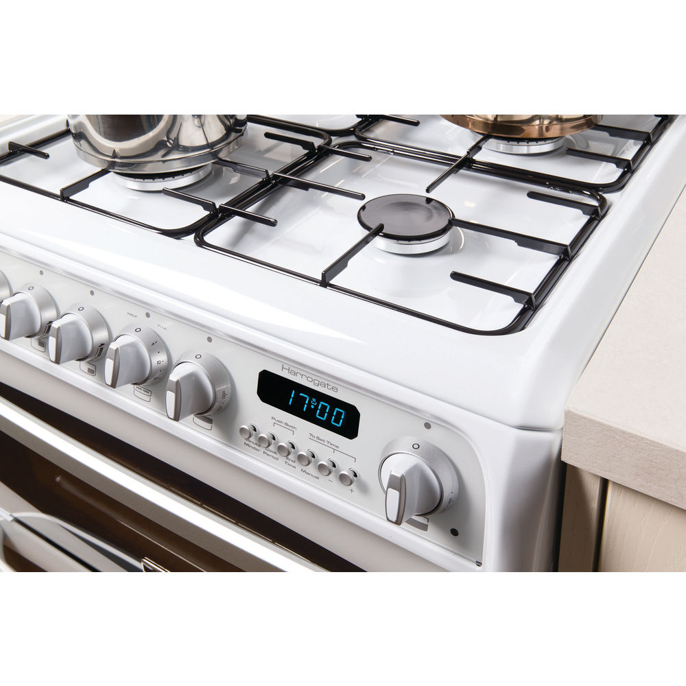 hotpoint gas freestanding double cooker 60cm ch60gciw hotpoint rh hotpoint co uk Cannon Cookers Spares Cannon Cookers UK