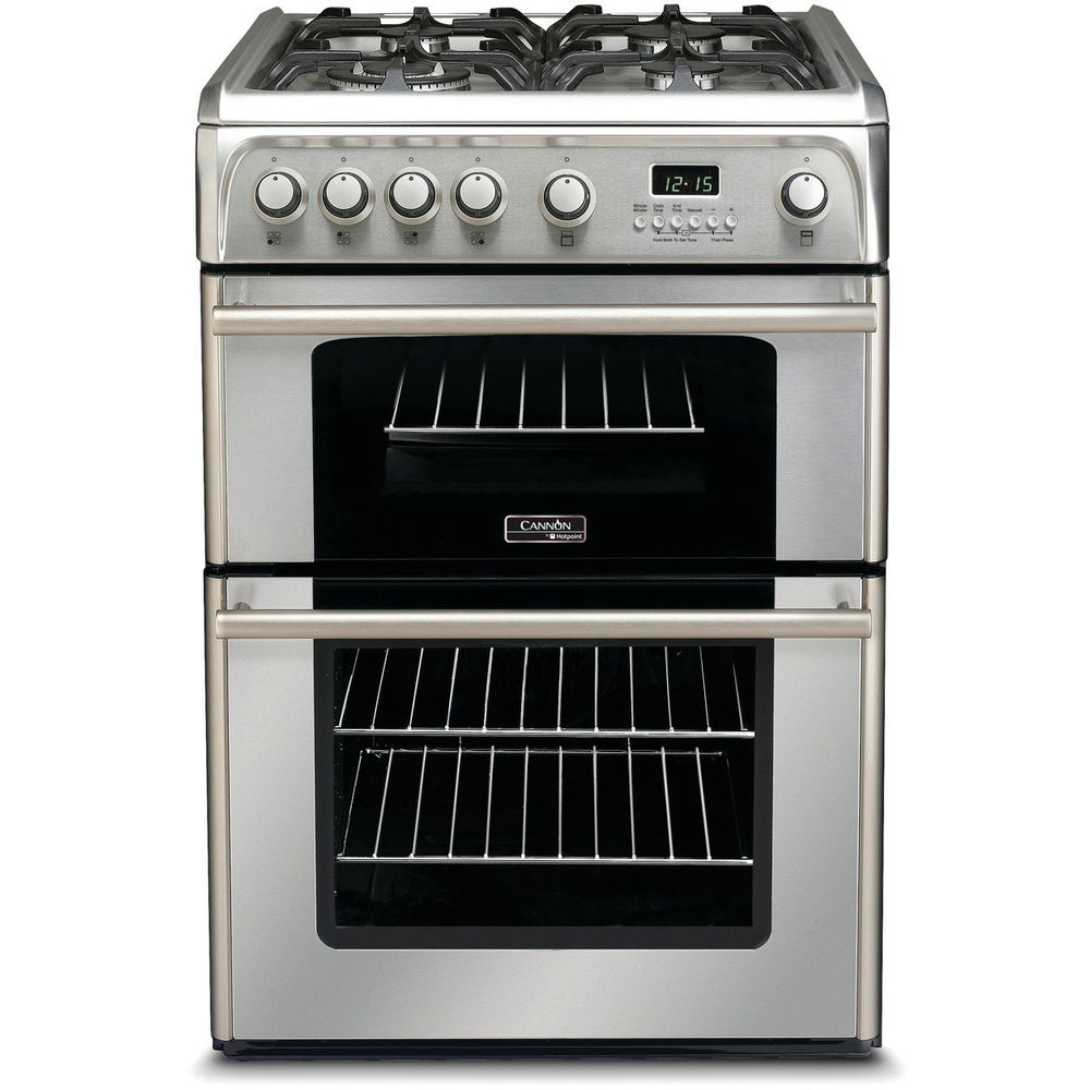 Hotpoint Cannon CH60GPXF Cooker - Stainless Steel