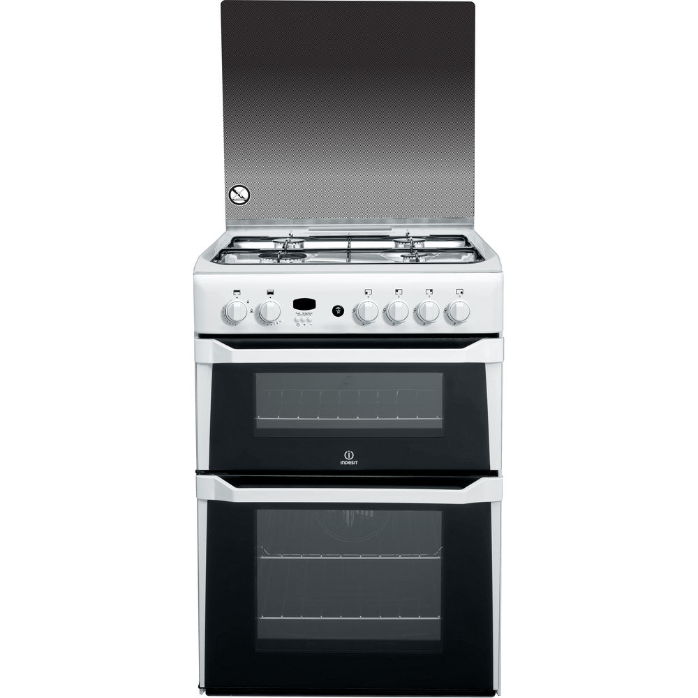 Indesit ID60G2(W) Cooker in White