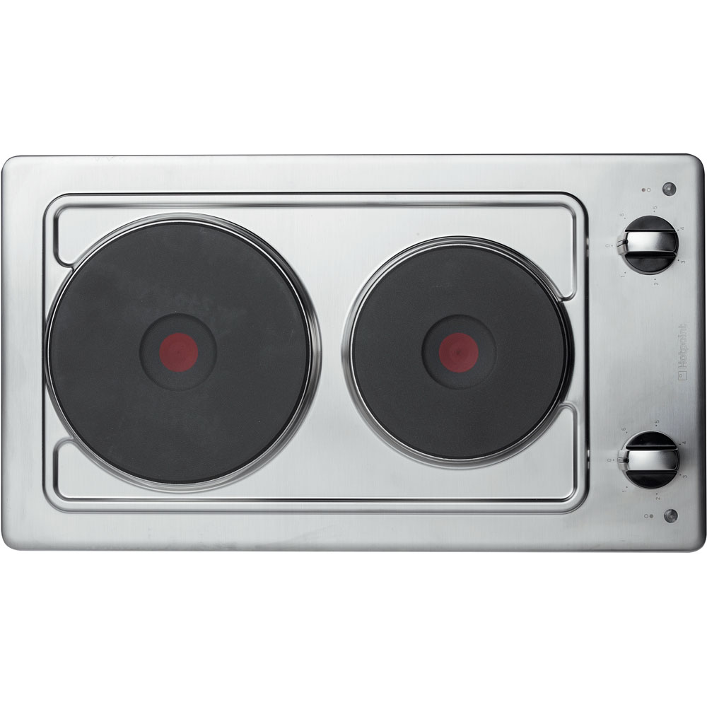 Hotpoint First Edition E320SKIX Electric Hob - Stainless Steel
