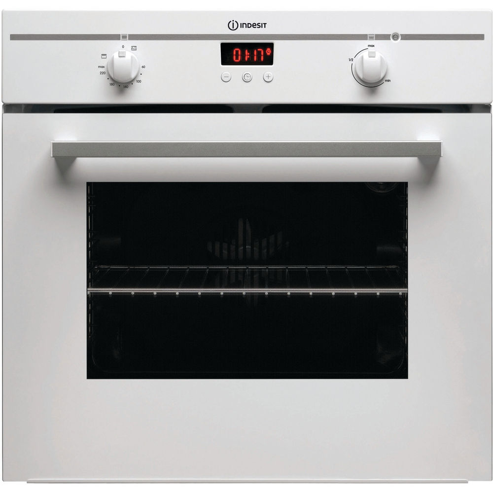 Built in electric oven: white colour