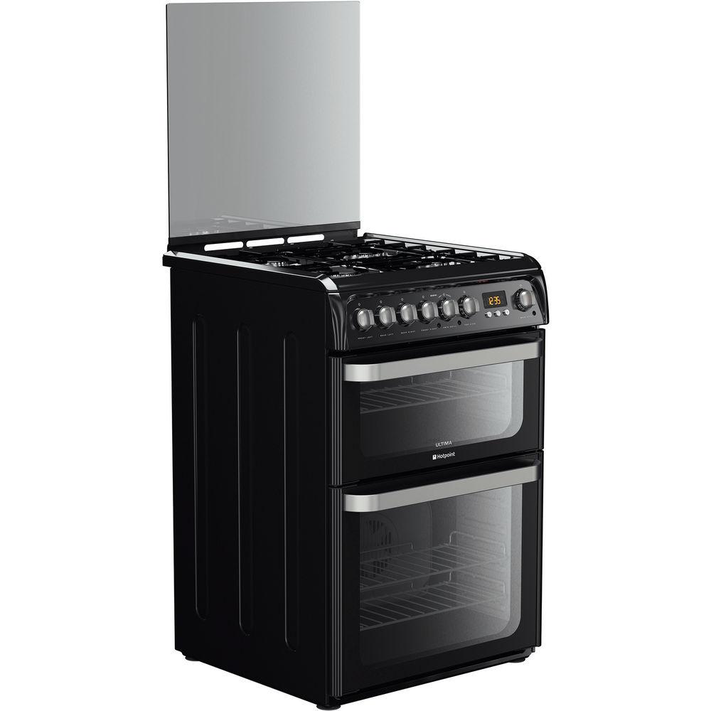 Hotpoint Ultima HUD61K S Cooker - Black