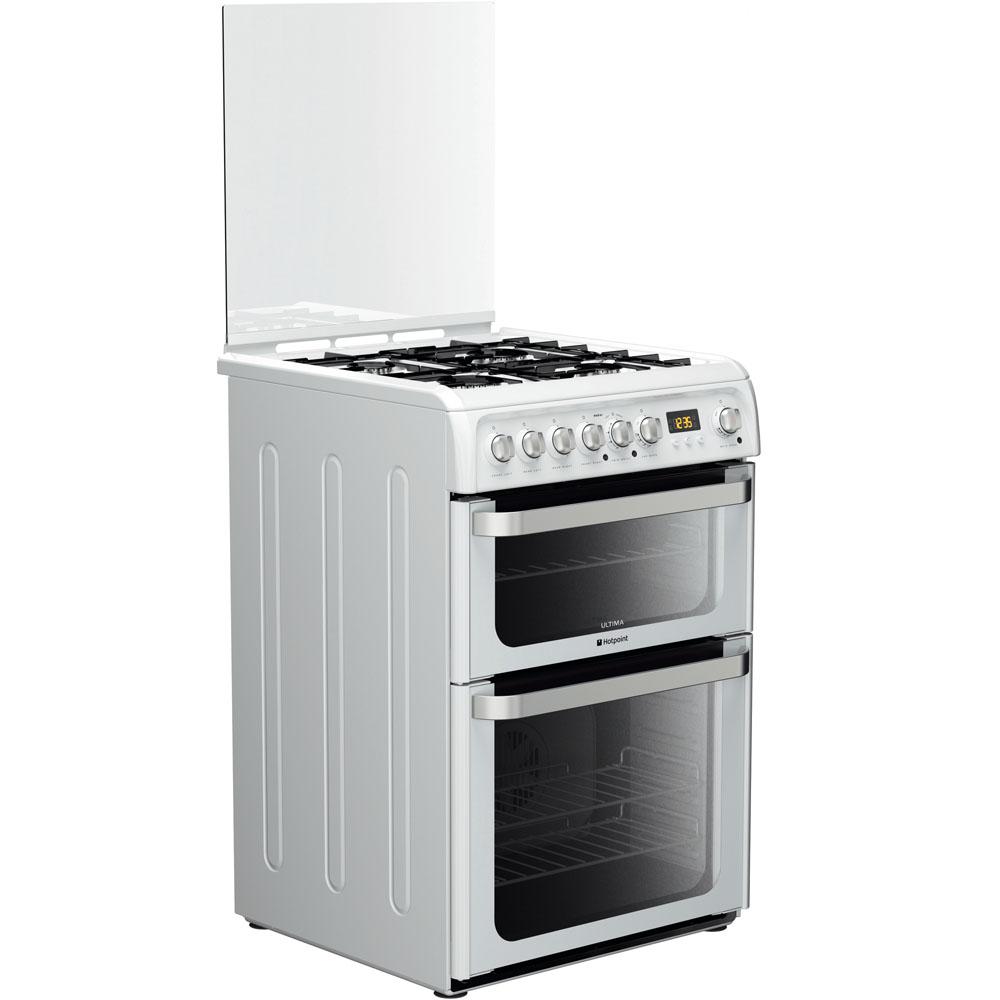 Hotpoint Ultima HUD61P S Cooker - White