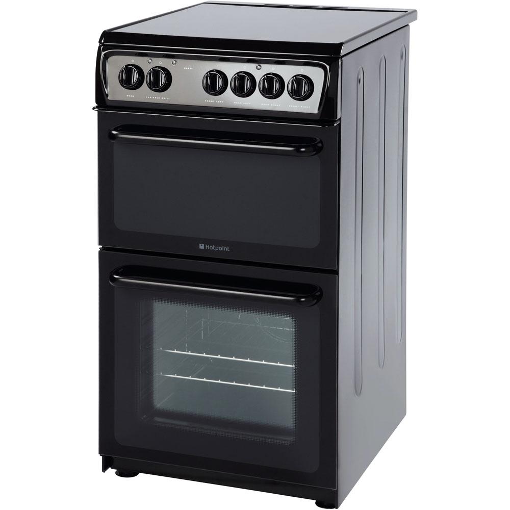 Hotpoint Newstyle HAE51K S Cooker - Black