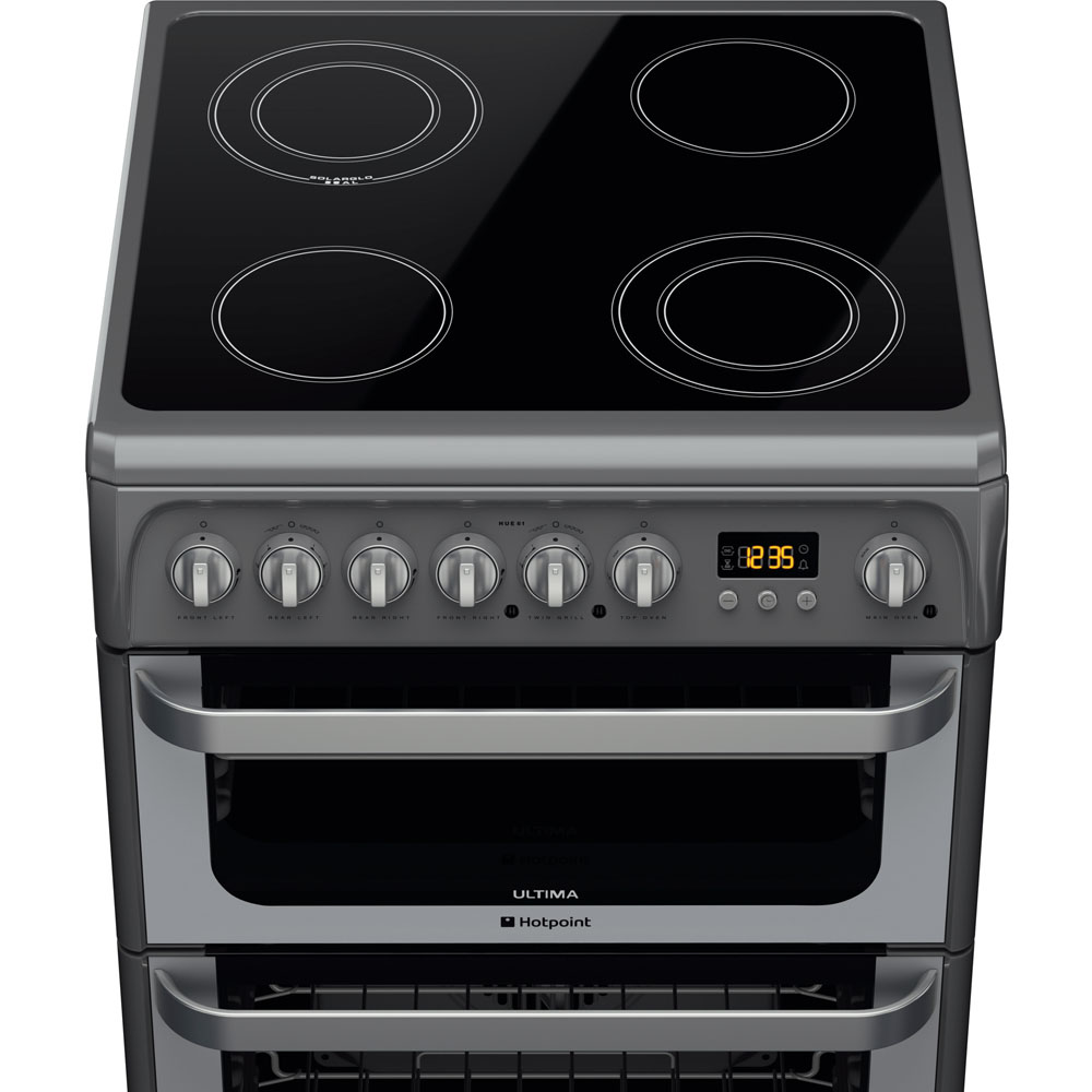 Hotpoint Electric Freestanding Double Cooker 60cm