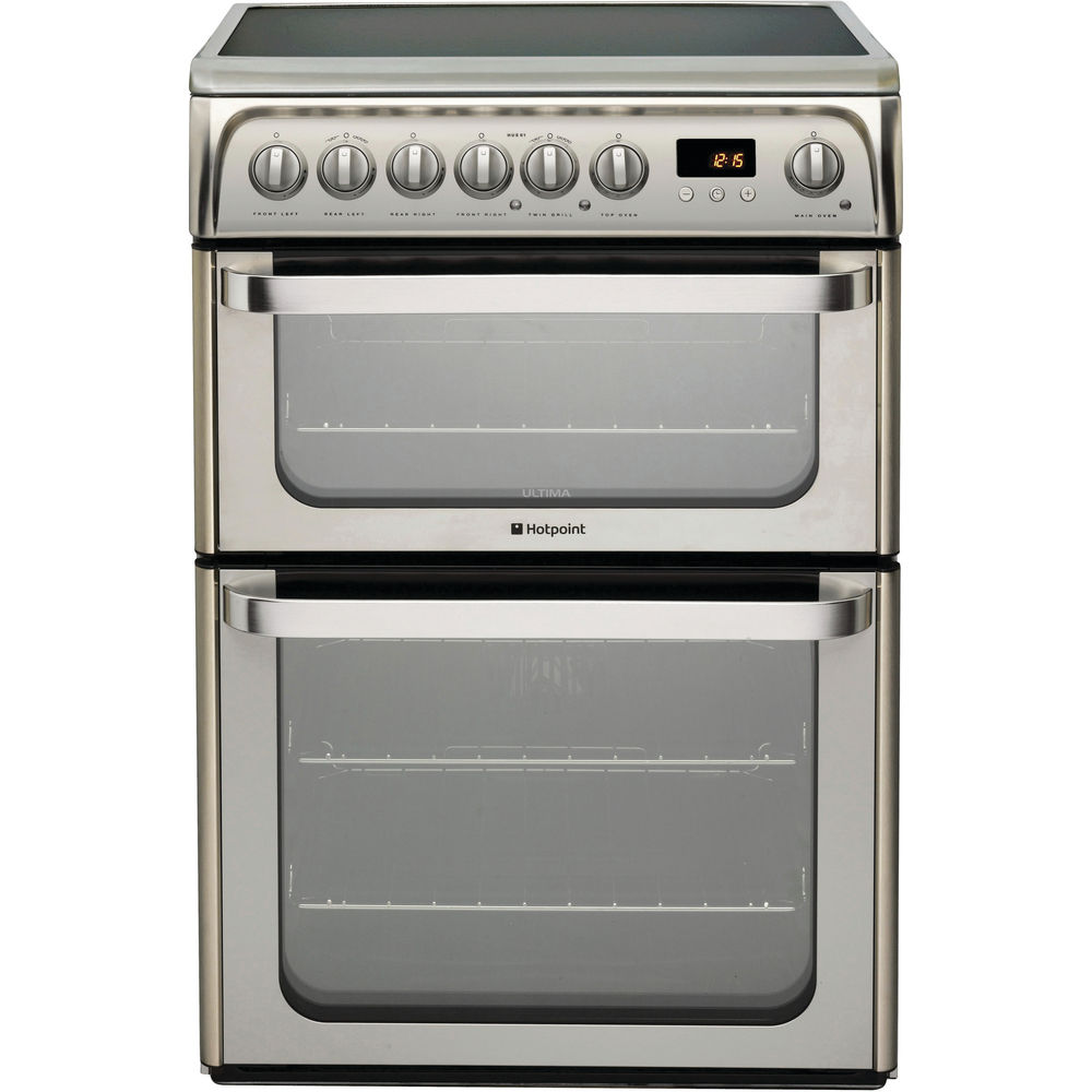 Hotpoint Ultima HUE61X S Cooker - Stainless Steel