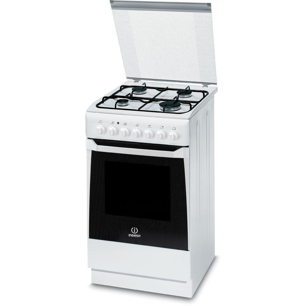 Cucina elettrica a libera installazione indesit 50 cm - Cucine a libera installazione ...