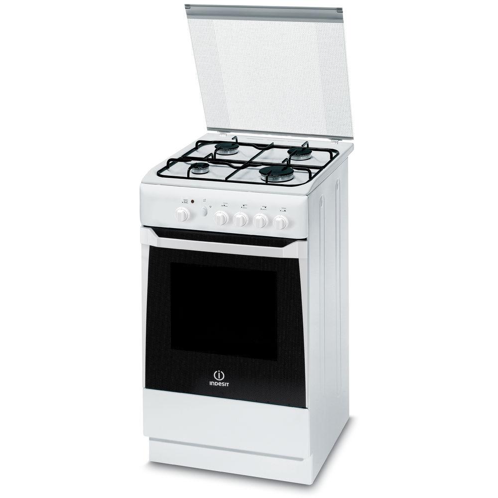 cucina a gas a libera installazione indesit 50 cm