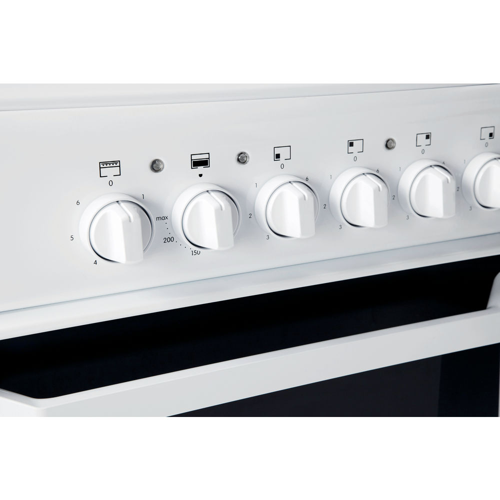Electric freestanding double cooker: 50cm