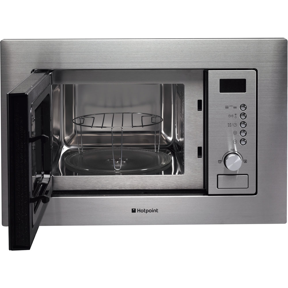 Hotpoint Built In Microwave Oven White Mwh 122 1 X