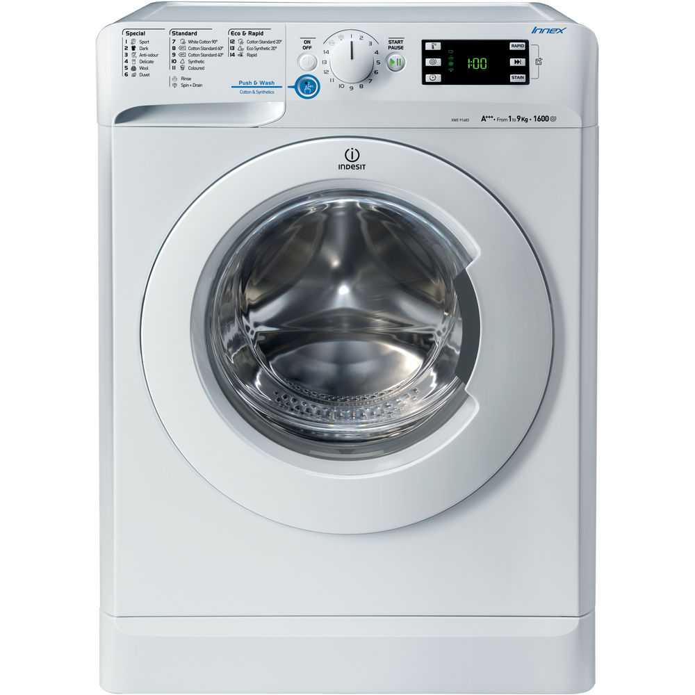 Indesit Innex XWE 91683X WWG Washing Machine in White