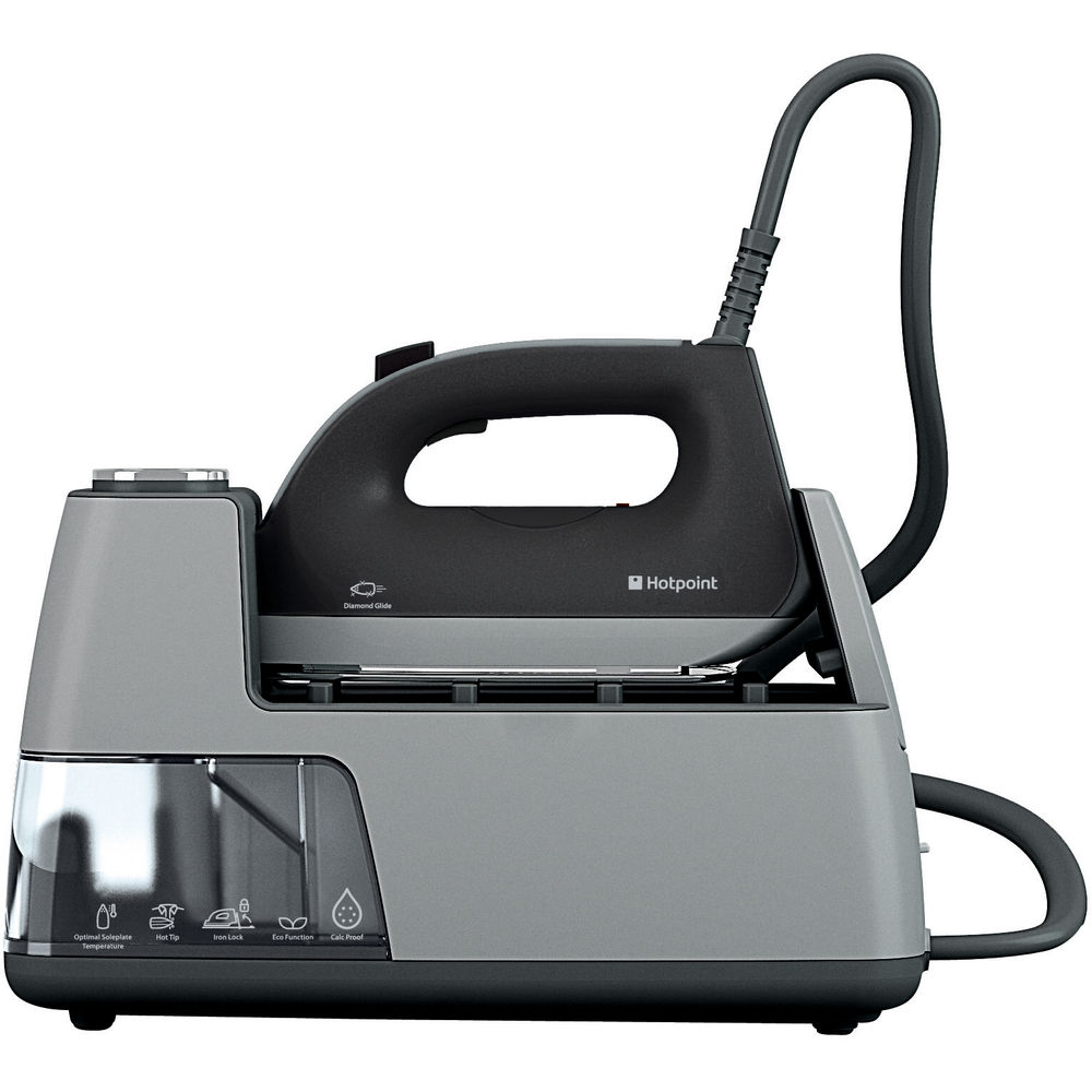 Hotpoint HD Line SG E12 AA0 Iron - Black