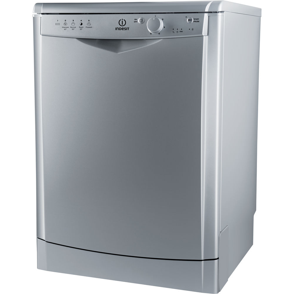 Indesit DFG 15B1 S Ecotime Dishwasher in Silver