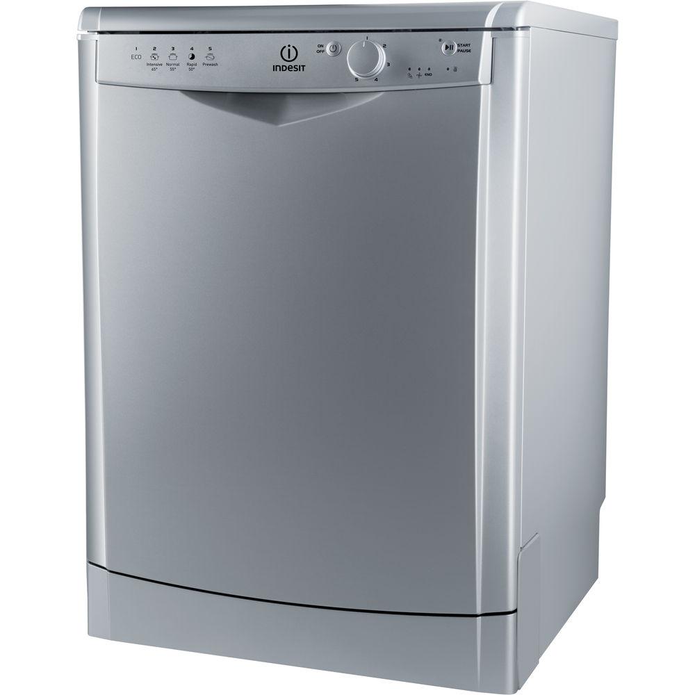 Indesit DFG 15B1 S Ecotime Dishwasher in Silver - DFG 15B1 S UK