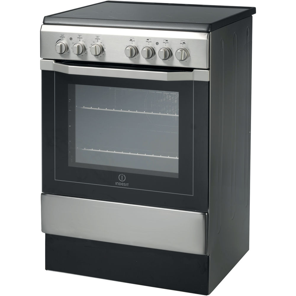 Indesit I6VV2A(X) Cooker in Stainless Steel