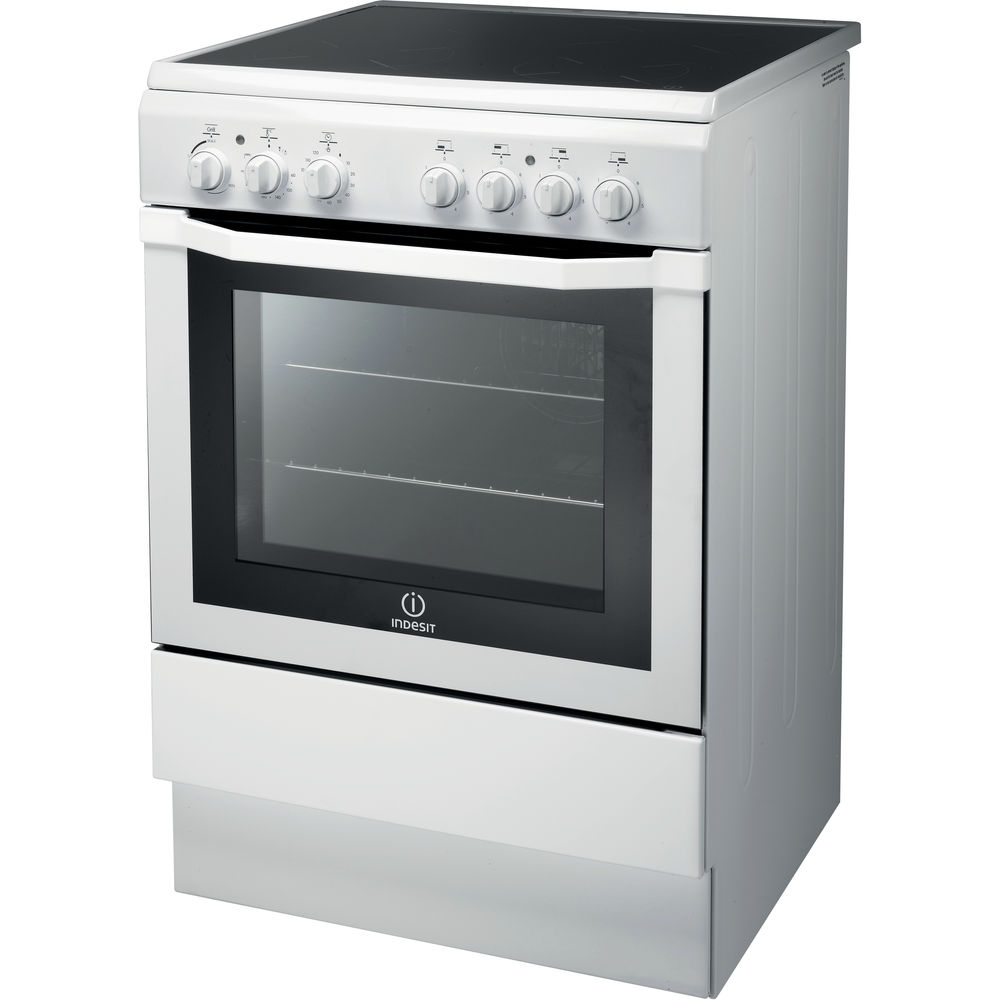 Indesit I6VV2A(W) Cooker in White