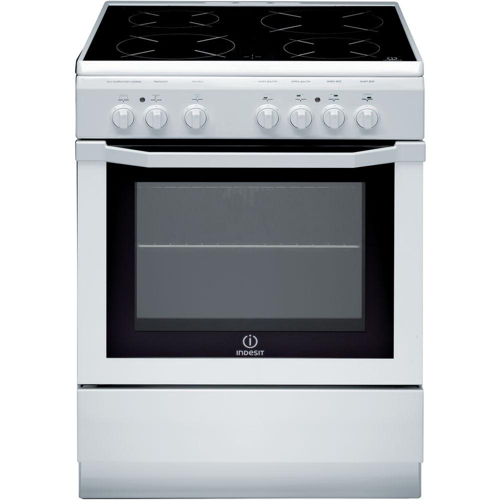 meilleur site web 6ddc9 7482d Cuisinière électrique posable Indesit: 60 cm - I6V6C1A H W FR
