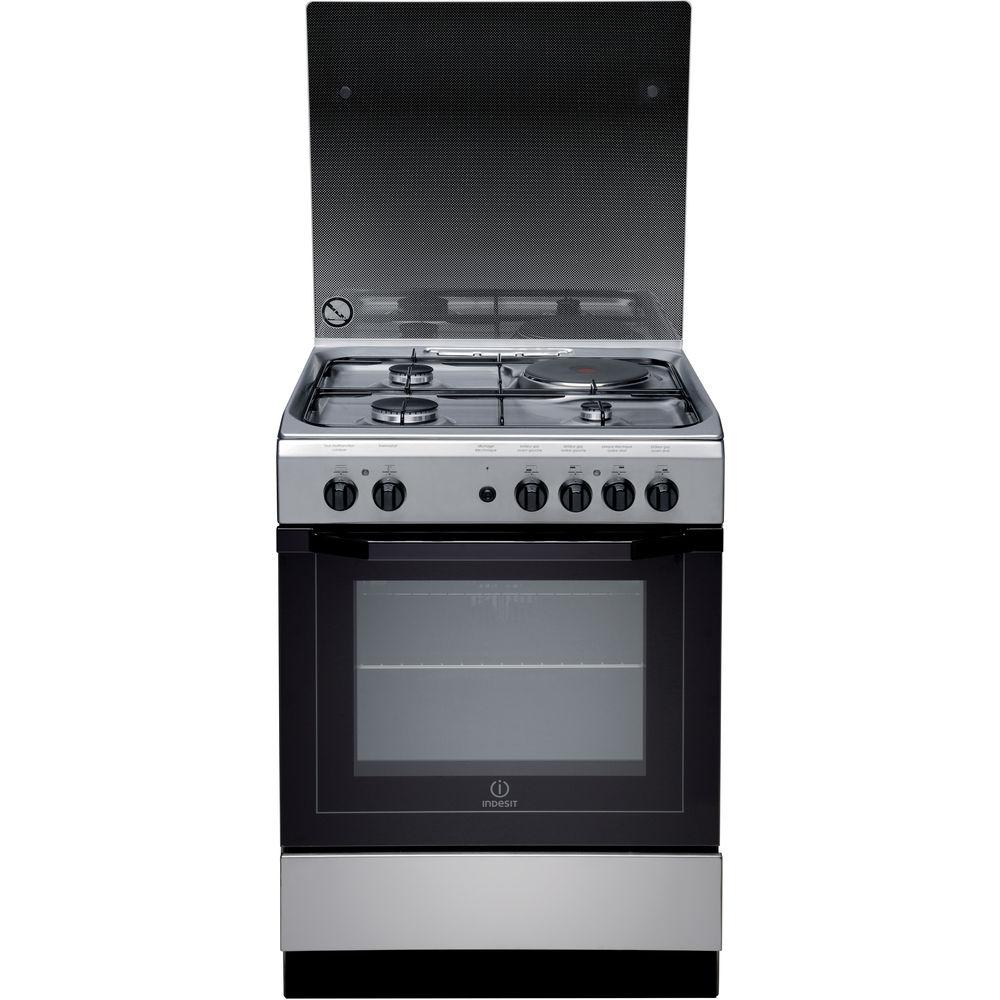 nouvelle arrivee 3ada2 580be Cuisinière électrique posable Indesit: 60 cm - I6M6CAG X FR