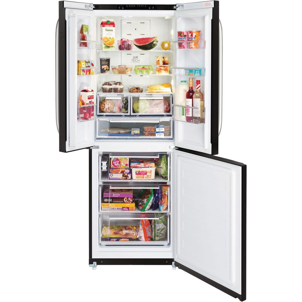Hotpoint freestanding fridge freezer: frost free