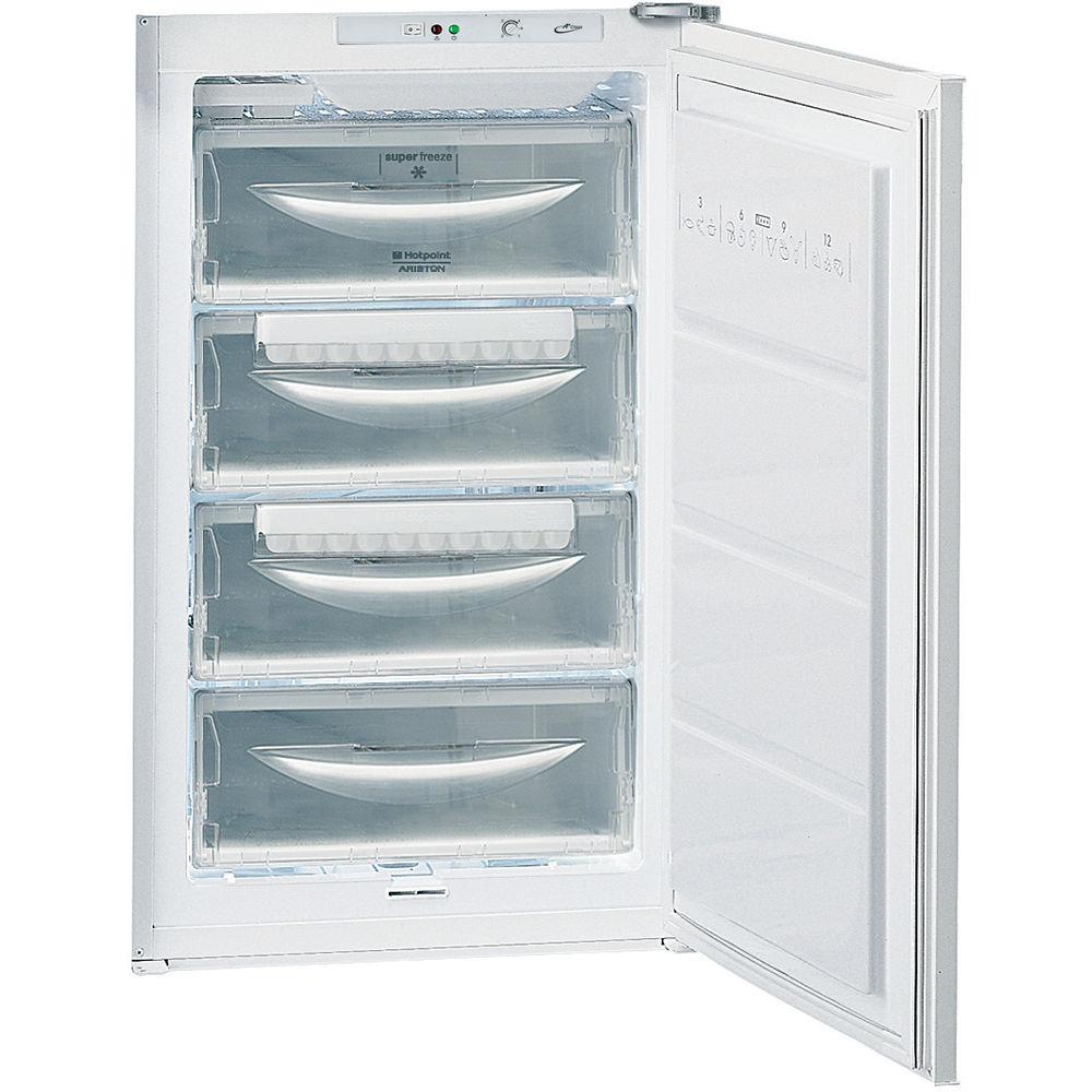 Встраиваемый морозильный ларь Hotpoint: белый цвет