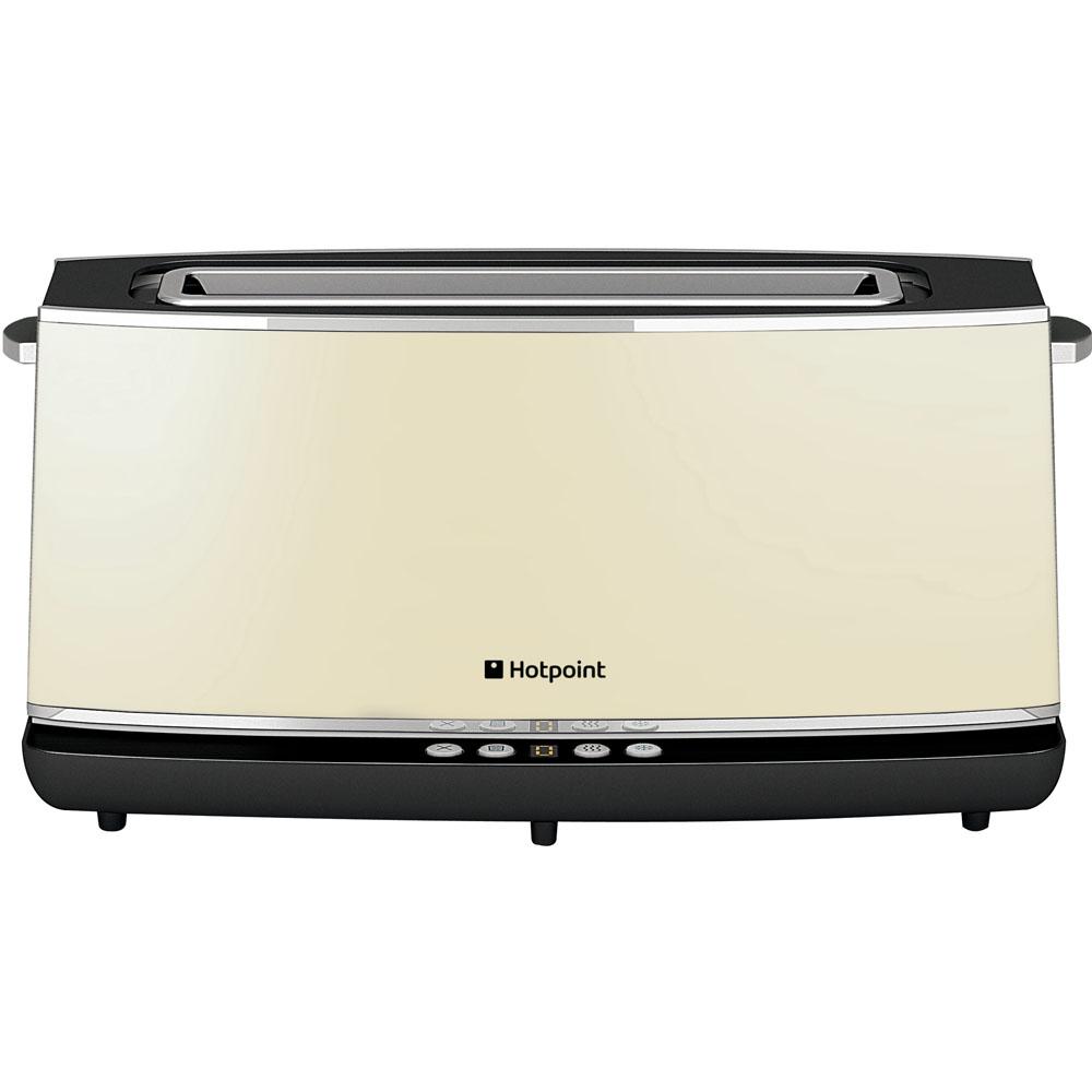 Hotpoint HD Line TT 12E AC0 Toaster - Cream