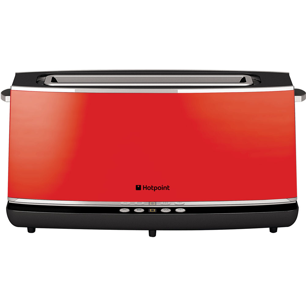 Hotpoint HD Line TT 12E AR0 Toaster - Red