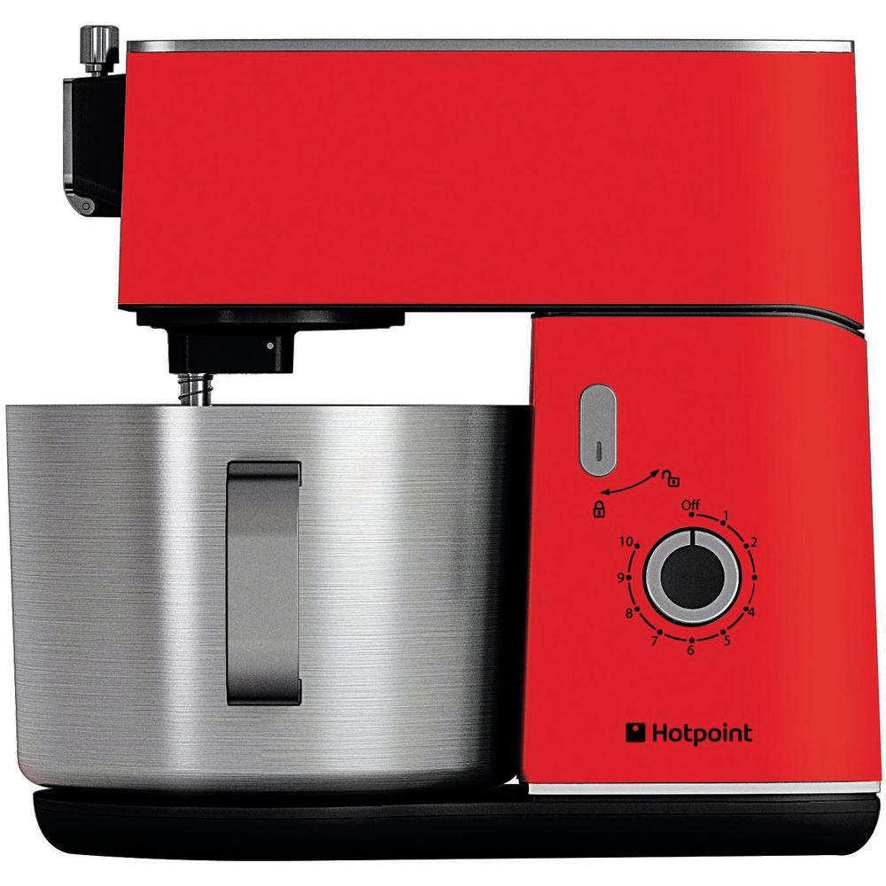 Hotpoint HD Line KM 040 AR0 Kitchen Machine - Red | Hotpoint