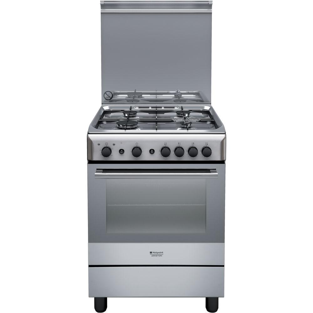 Cucina a gas a libera installazione Hotpoint: 60 cm