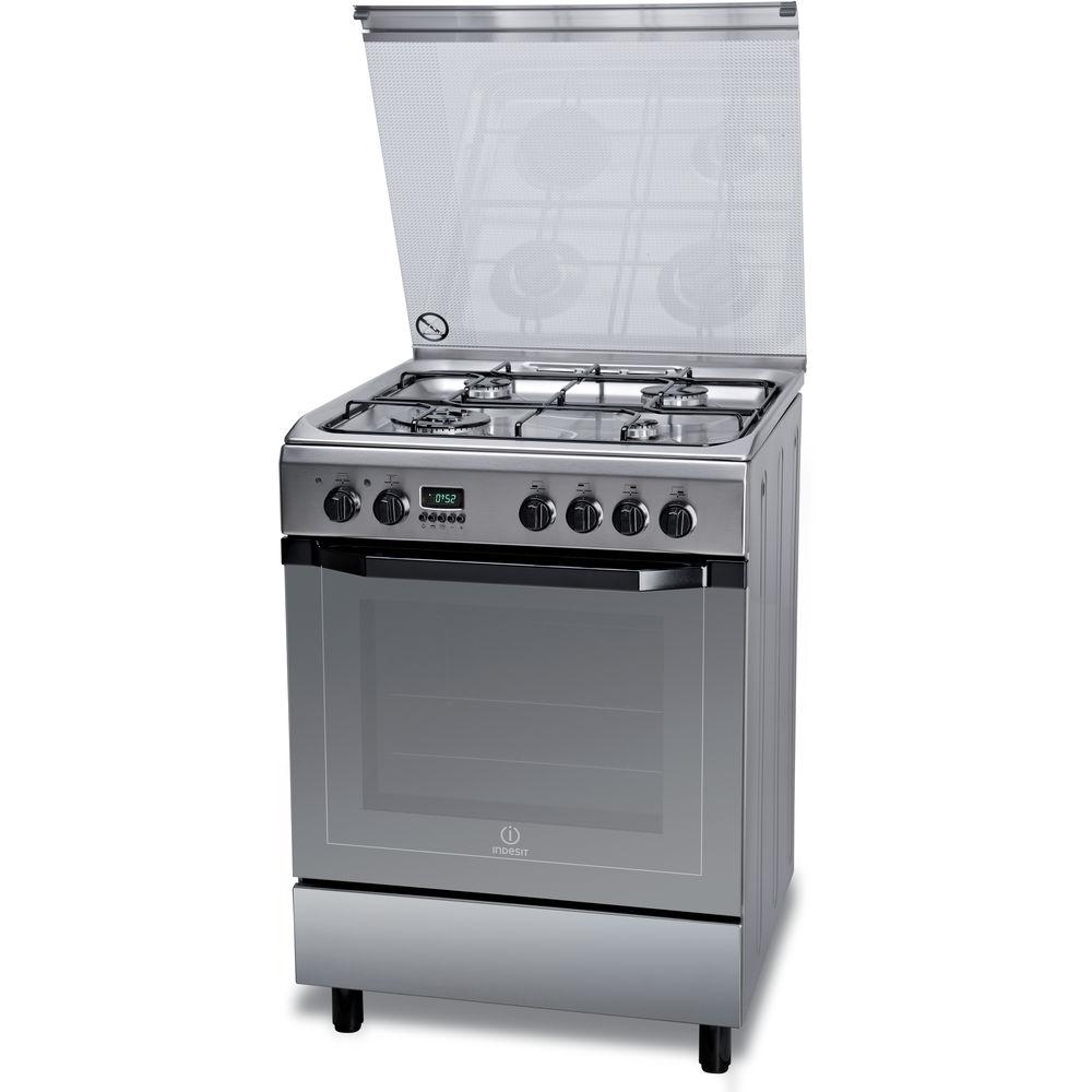 Cucina elettrica a libera installazione Indesit: 60 cm - I6TMH2AF W I