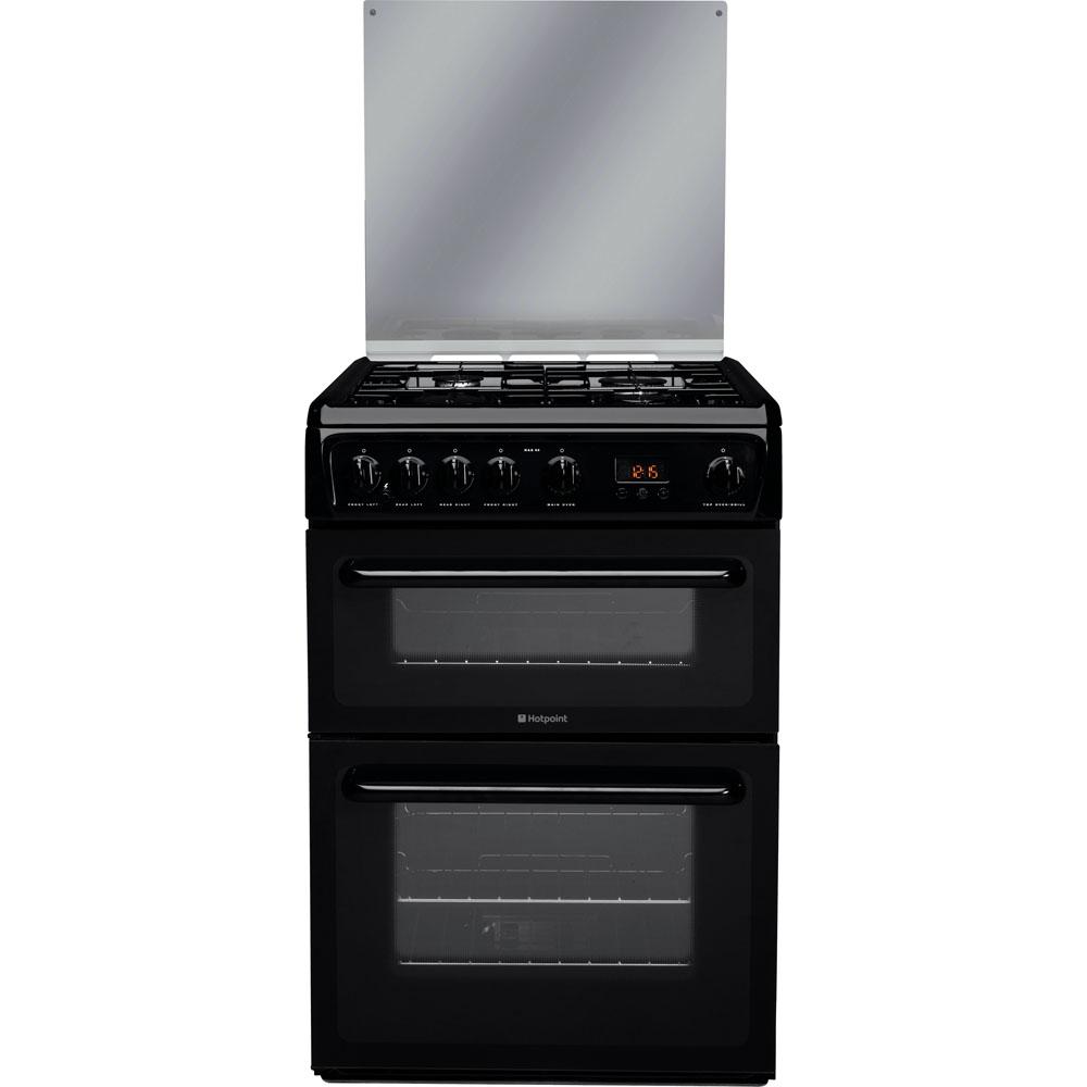 Hotpoint Newstyle HAGL60K Cooker - Black