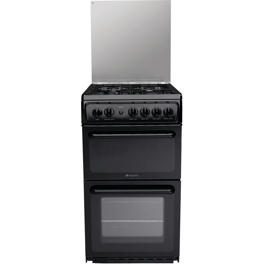 Hotpoint Newstyle HAGL51K Cooker - Black