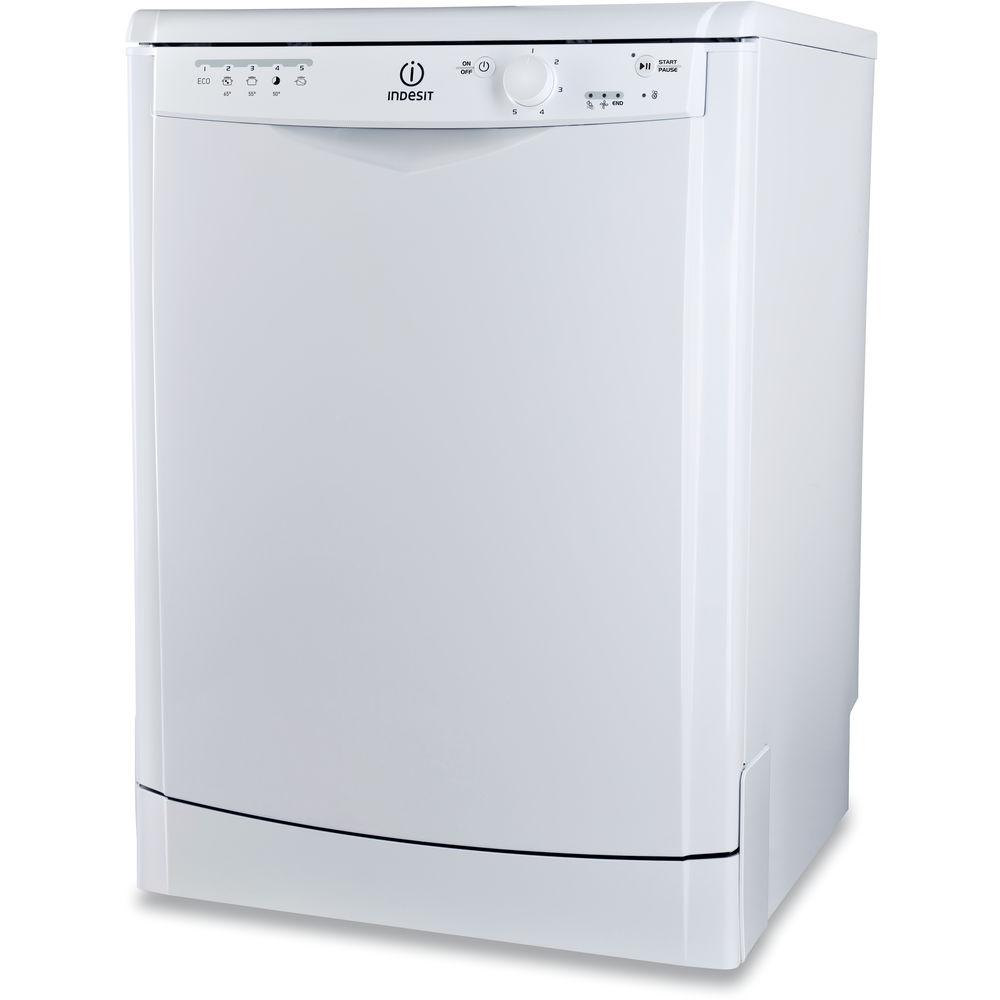 Lave-vaisselle Indesit : Standard 60 cm, Couleur blanche - DFG ...