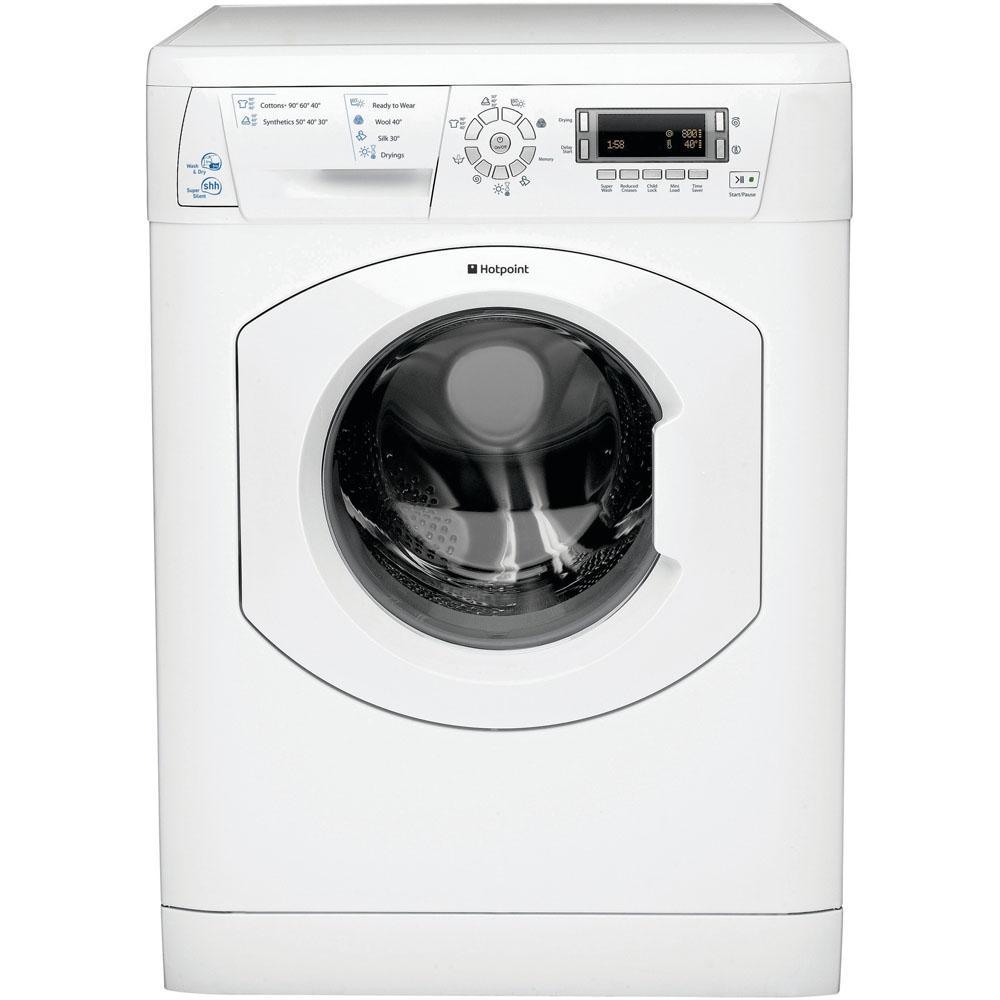 Hotpoint freestanding washer dryer: 7kg - WDD 750P UK | Hotpoint