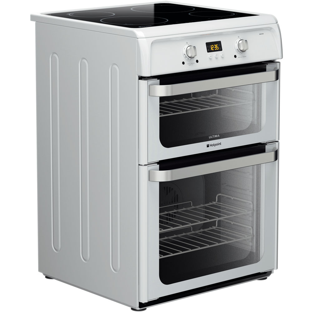 Hotpoint Ultima HUI612 P Cooker - White